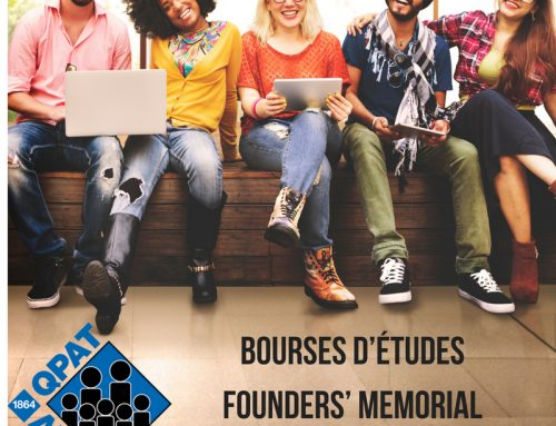 Bourses d'études Founders' Memorial et Jack Johnson Memorial