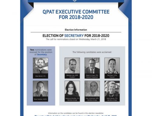 QPAT EXECUTIVE COMMITTEE FOR 2018-2020