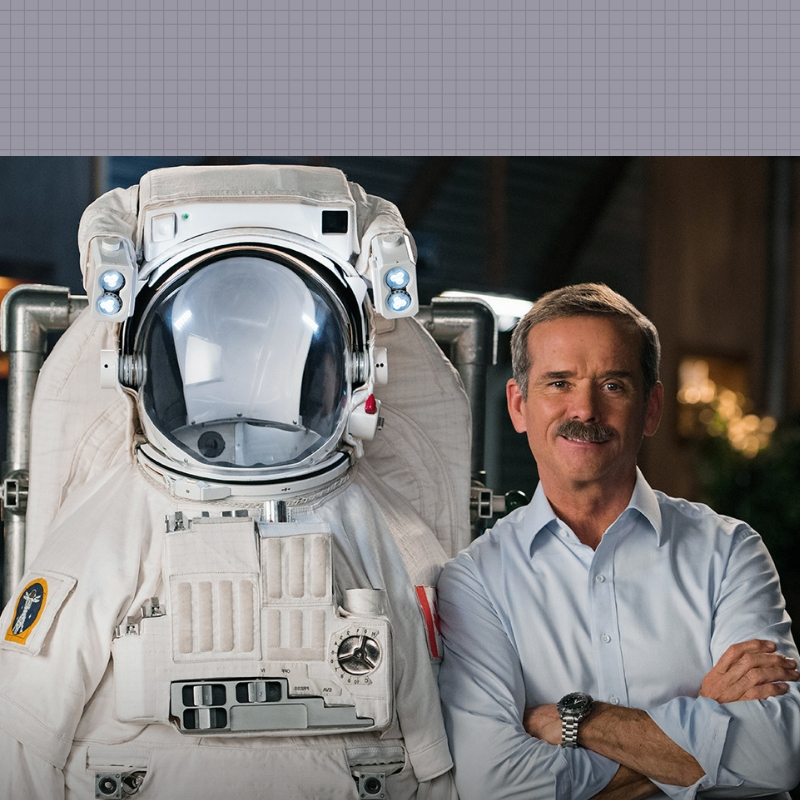 Science and Space  with  Chris Hadfield