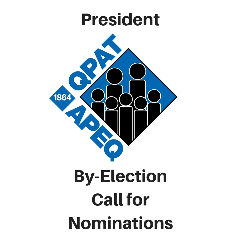President: By-Election Call for Nominations